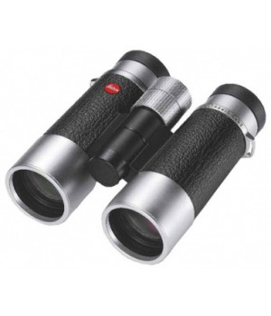 Бинокль Leica Ultravid SilverLine 10x42 комбинация кожа + серебристый корпус