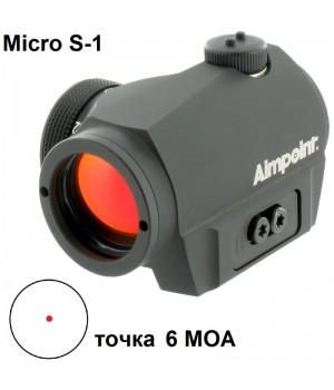 Коллиматор Aimpoint Micro S-1, на гладкоствольные ружья, 6 MOA