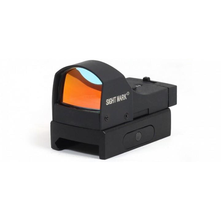 Прицел коллиматорный Sightmark Mini панорамный, на Weaver