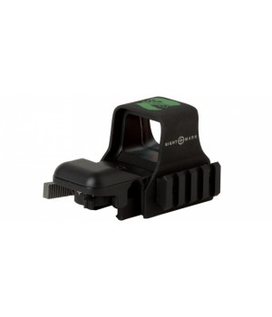 Коллиматор Sightmark быстросъемный, наWeaver, зеленая марка
