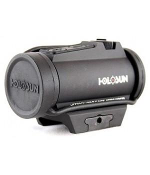 Коллиматор Holosun PARALOW, на Weaver/Picatinny, внешняя батарея, точка/круг-точка 2/65МОА, кронштейн, U-защита
