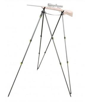 Опора Primos PoleCat STEADY REST, для ружья, 2 упора-3 ноги(с микро регулировкой)+2 ноги, секции с зажимами, алюминий