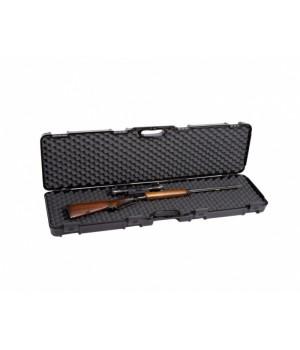кейс Negrini для карабина с оптикой, 4 замка, пластик, наполнитель поролон, размер внутр.117,5x29x12см, черный