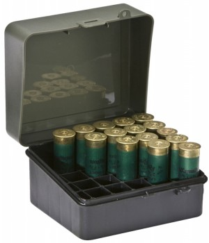 Коробка Plano 25 для патронов калибра 12-16 магнум