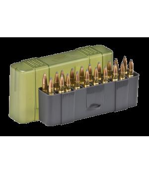 Коробка Plano 20 для патронов кал. 30-06, 7mm Mag, .25-06Rem, .270, .280Rem, .338Win Mag, .340Wby Mag