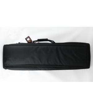 кейс VEKTOR капроновый, с пенополиэтиленом и креплением оружия системой 'молле'с рюкзачными лямками, черный