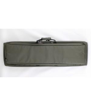 кейс VEKTOR капроновый, с пенополиэтиленом и креплением оружия системой 'молле' с рюкзачными лямками,зеленый