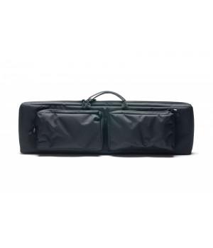 кейс VEKTOR капроновый, с пенополиэтиленом и креплением оружия системой 'молле' с двумя карманами с отделениями под магазины,чёрный