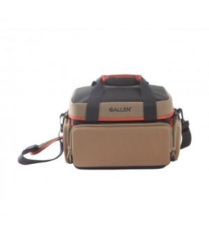 сумка Allen ELIMINATOR PRO RANGE стрелковая, 4 внешних кармана, плечевой ремень, цвет кофе/черный
