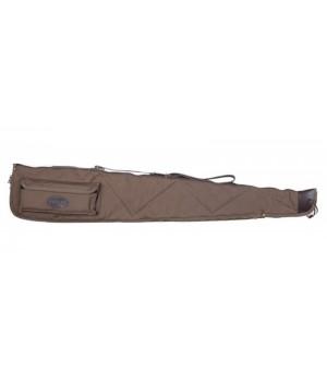 Чехол Allen мягкий, длина 132 см. внешний карман, материал - хлопок, цвет - коричневый