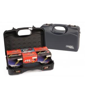 кейс Negrini на 150 гладкоствольных патронов, черный, пластик АВS