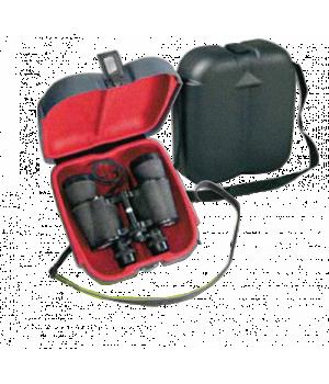 Футляр Negrini для бинокля с плечевым ремнем, пластик ABS, внутренний размер 21.5x22x8 см