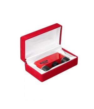 Подарочная коробка для театрального бинокля, красная