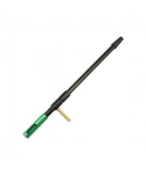 Направляющая шомпола BoreTech, к. 8мм-.416, длина 34см, алюминий, порт для химии, химически стойкая, зеленый
