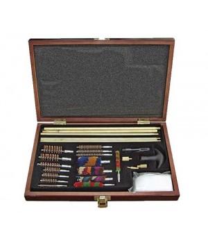 Набор для чистки DAC универсальный, 35 предметов, в деревянном кофре