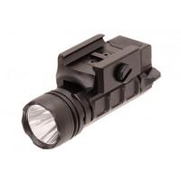 Фонарь тактический UTG на Weaver/Pic., светодиод 24mm 3V LED IRB, 400люм, черный