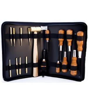 Набор инструментов оружейного мастера Grace USA Gun Care Tool Set (выколотки, отвертки, молоток)