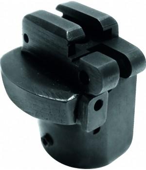 Переходник 'Ключ' для телескопического приклада, складной, тип Вепрь-205, материал Д16Т