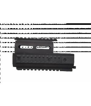 Цевье с накладкой AKademia 'Панцирь РПК'для самозарядных ружей типа Вепрь, сплав Д16Т, 4 планкиPicatinny