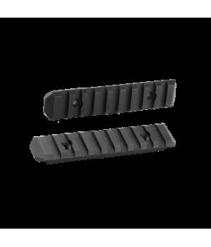 Набор планок 'Тактик' для накладки 'Прайм', 2 планки Picatinny по 9 слотов, сплав Д16Т