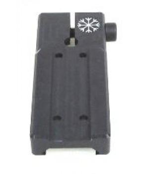 """Кронштейн """"Aimpoint"""" на Weaver/Picatinny, сплав Д16Т, 4 винта в комплекте, длина 65 мм"""