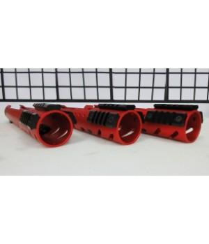Набор планок Weaver х 3 для трубчатых цевий Ø50 мм, сплав Д16Т, длина 65 мм, вес 22 гр.
