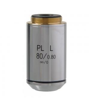 Объектив 80х/0,80 PL L POL беск/0 1.25 мм (для Микромед Полар)