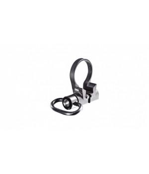 Адаптер CAA для QD-антабок на AR-системы (AR15/M4), двухсторонний, на трубку приклада, алюминий, черный
