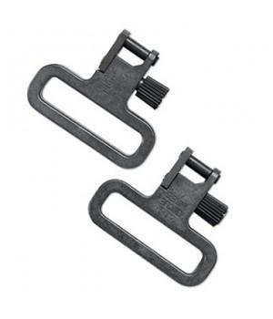 Антабкибыстросъёмные Uncle Mike`s,без хомута, сталь, ширина ремня 3,2 см