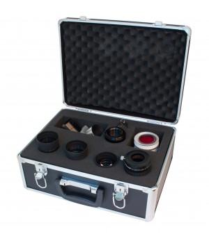 """Набор MEADE (3 окуляра, Барлоу, диагональное зеркало 2"""", адаптер 1,25/2, 5 фильтров) в кейсе"""