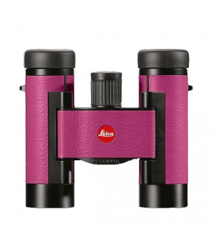 Бинокль Leica Ultravid Colorline 8x20 вишневый (Cherry Pink)