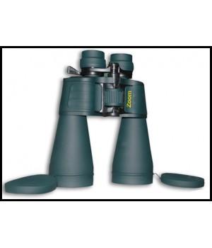 Бинокль Navigator 10-30x60 Porro, зеленый, обрезиненный