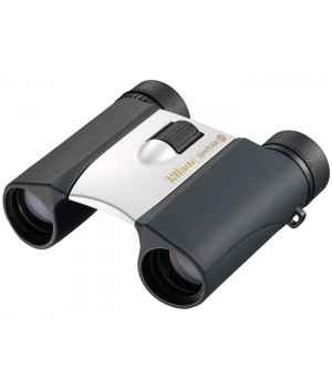 Бинокль Nikon Sportstar EX 10x25 серебристый