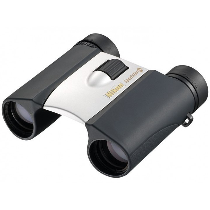 Бинокль Nikon Sportstar EX 10x25 DCF серебристый
