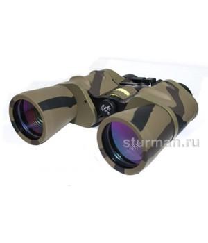 Бинокль Sturman 10x50 с сеткой камуфлированный