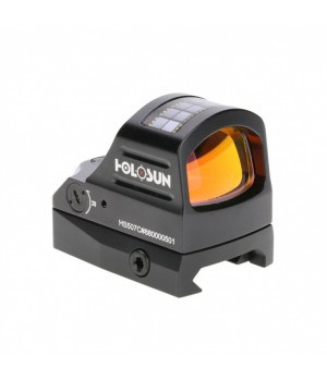 Прицел коллиматорный Holosun OpenReflex micro открытый, точка/круг/круг-точка 2/32МОА, подсветка 12 (+NV), RED