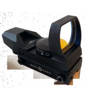 коллиматор Sightmark панорамный, 4 марки, на планку 11 мм (ласточкин хвост)