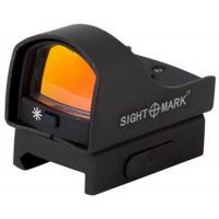 Прицел коллиматорный Sightmark Mini панорамный, на Weaver, 5 уровней яркости подсветки