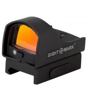 Коллиматор Sightmark Mini панорамный, на Weaver, 5 уровней яркости подсветки