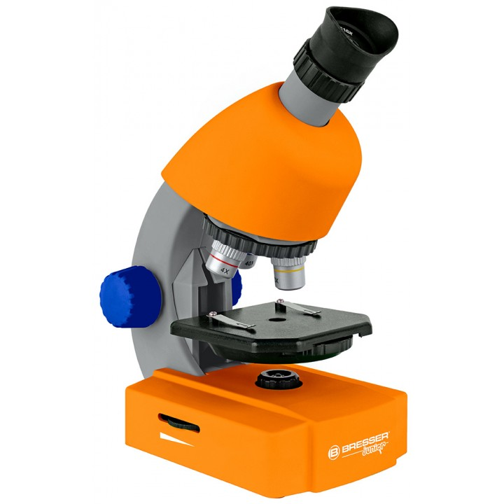 Микроскоп Bresser Junior 40x-640x, оранжевый