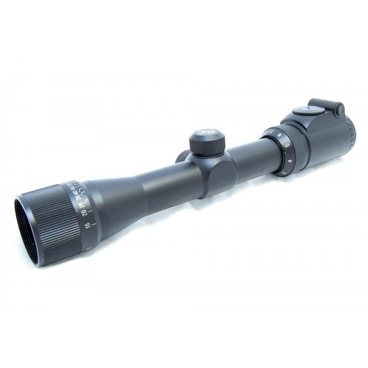 Прицел оптический Combat 2-7x32 AOEGC MilDot, 30мм, подсветка красная и синяя, отстройка от параллакса