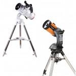 Телескопы по типам
