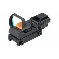 Прицел коллиматорный Target Optic 1х33 на Weaver, сменные марки