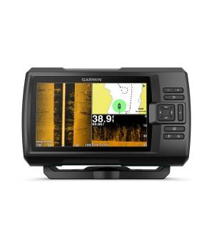 Эхолот рыбопоисковый Garmin Striker Plus 7sv, транцевый трансдьюсер GT52HW-TM, GPS, дисплей 7 дюймов
