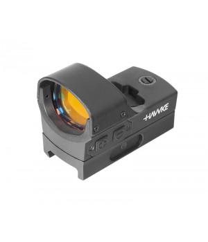 Коллиматор Hawke Reflex Red Dot Sight - Digital Control Large (5 МОА), точка, на Weaver