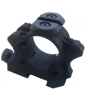Кольца AKademia Тринити-12,5, 30мм, на Weaver/Picatinny, h=12,5мм, 3 скобы, винт, +планка, алюминий