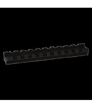Планка 'Лоренцо' типа Picatinny, на Benelli Vinci / Benelli Raffaello, сплав Д16Т, 10 слотов