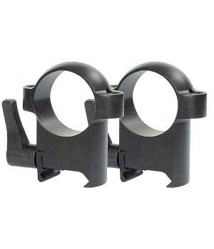 Кольца Burris Zee quick detatchable 25,4 мм, высокие, Weaver (420037)