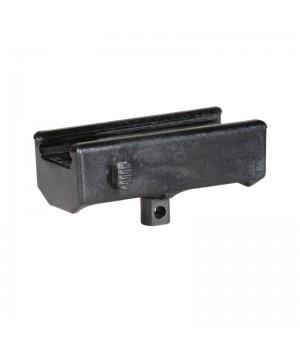 Переходник CAA на антабку, с Weaver/Picattiny, быстросъемный, полимер/алюминий, длина 64мм, черный