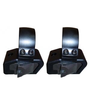 Кольца быстросъемные Innomount26 мм, высота 14 мм, на Weaver/Picatinny